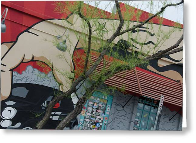 South Congress Greeting Cards - SoCo Austin Greeting Card by Alice Burghart