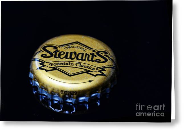 Soda - Stewarts Root Beer Greeting Card by Paul Ward