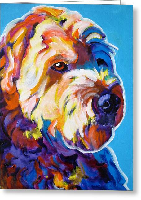 Soft Coated Wheaten Terrier - Max Greeting Card by Alicia VanNoy Call