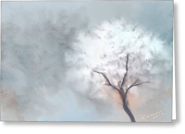 Soft Dream Greeting Card by Kume Bryant