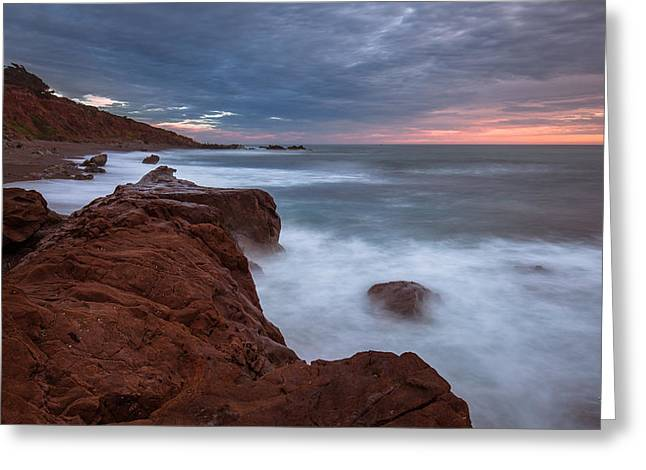 Cambria Greeting Cards - Soft Evening Impact- Cambria Greeting Card by Tim Bryan