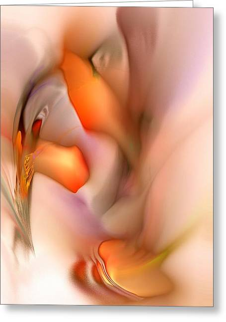 Loving Touch Greeting Cards - Soft Feelings Greeting Card by Anastasiya Malakhova