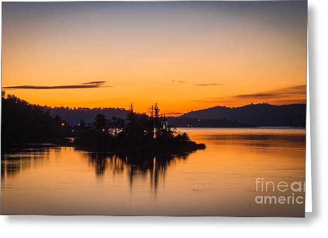 Sunrise Over California Greeting Cards - Soft Morning Greeting Card by Mitch Shindelbower