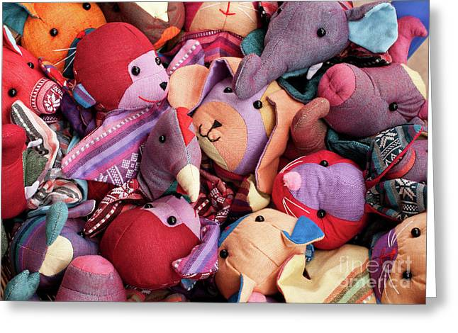Indochine Greeting Cards - Soft Toys 02 Greeting Card by Rick Piper Photography