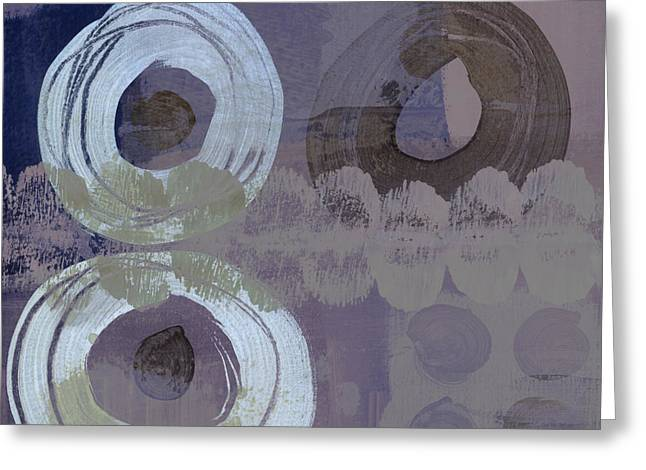 Muted Greeting Cards - Softly Purple Greeting Card by Carol Leigh
