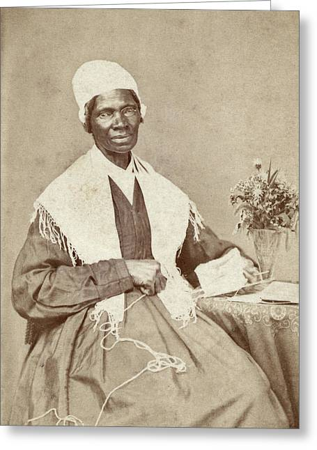 Sojourner Truth (c1797-1883) Greeting Card by Granger