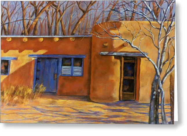Sol y Sombre Greeting Card by Ann Peck