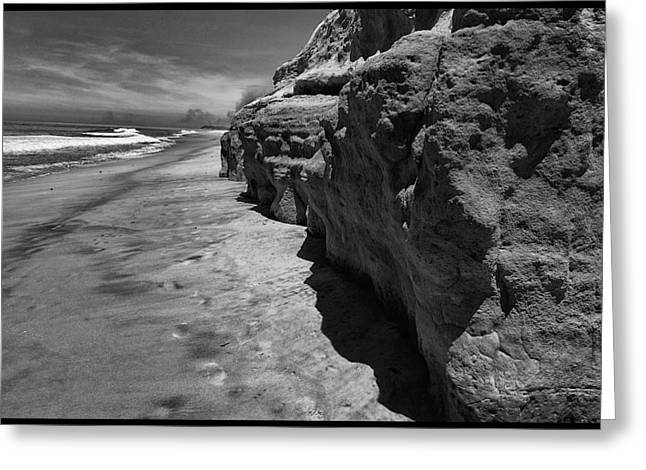 Solano Beach Greeting Card by David Beaton