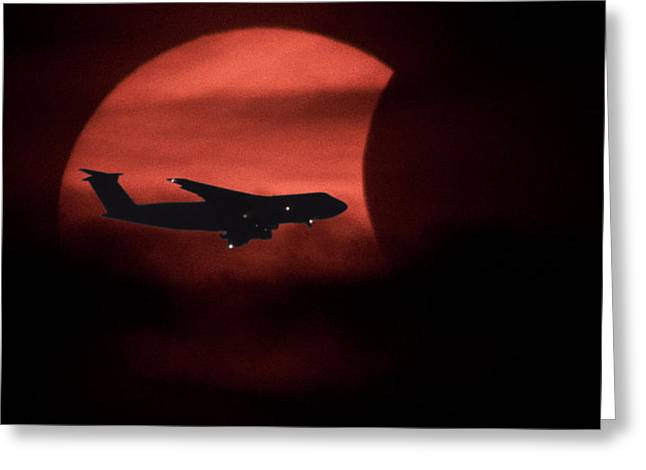Jet Star Greeting Cards - Solar Flight Greeting Card by John Bailey