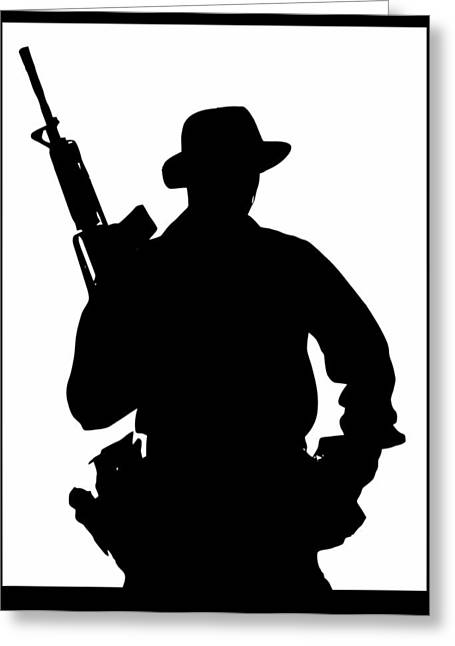 Soldier Of Fortune Greeting Cards - Soldier_of_fortune Greeting Card by Jason Hanson