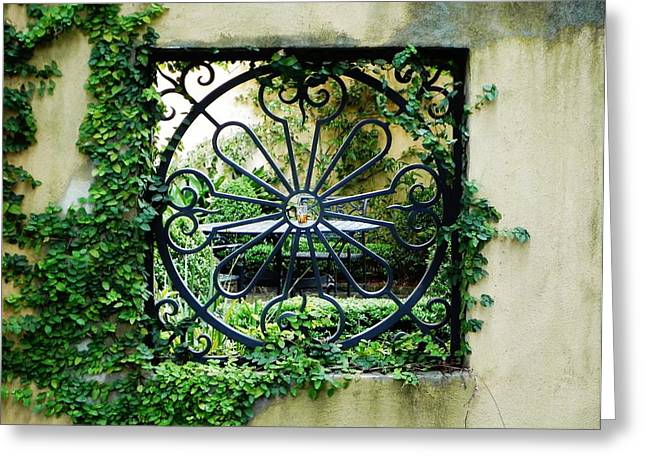 Recently Sold -  - Iron Greeting Cards - Solitary Vision Greeting Card by Brenda Bihlear