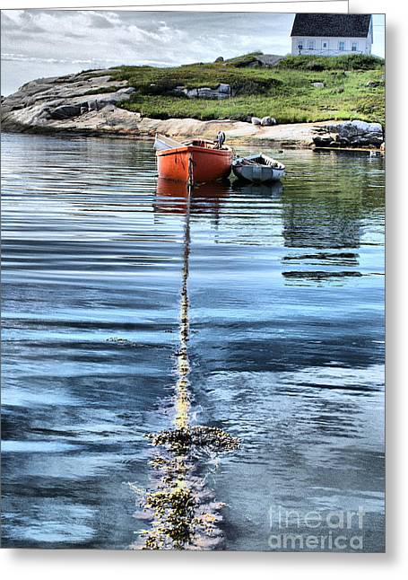 Fishing Boats Greeting Cards - Solitude 2 Greeting Card by Shaun White