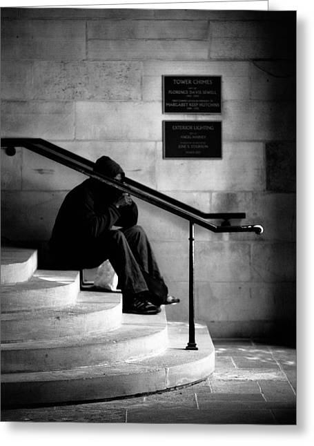 Allan Millora Greeting Cards - Solitude Greeting Card by Allan Millora