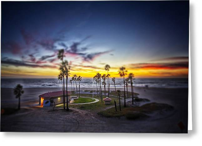 Russ Styles Greeting Cards - Solitude By The Sea... Greeting Card by Russell Styles