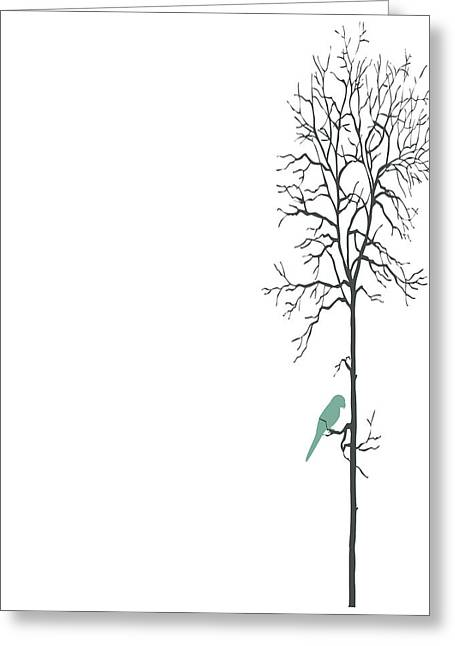 Self Love Greeting Cards - Solitude Greeting Card by Nomad Art And  Design