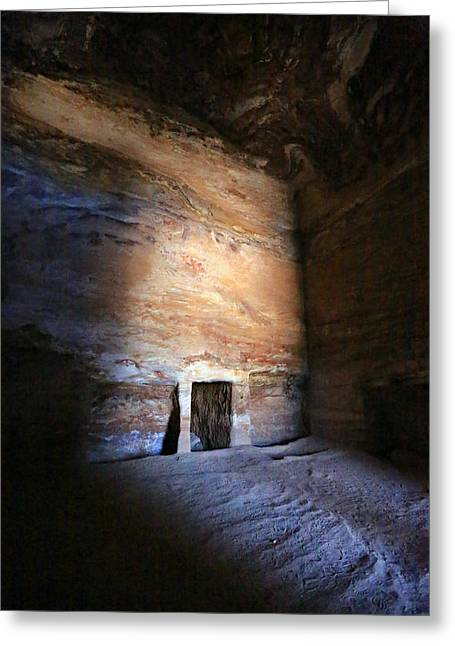 Caves Greeting Cards - Solitude Greeting Card by Stephen Stookey