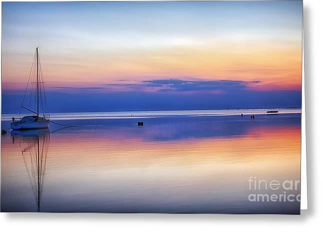 Inner Self Photographs Greeting Cards - Solitude Greeting Card by Steve Bridge