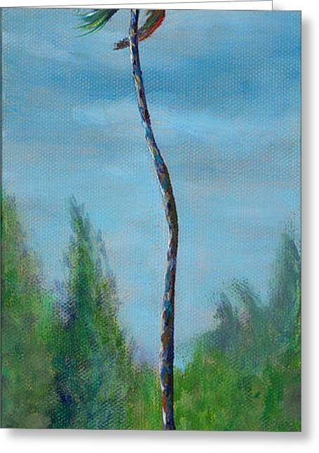 Expression Paintings Greeting Cards - Solitude Greeting Card by Kerri Meehan
