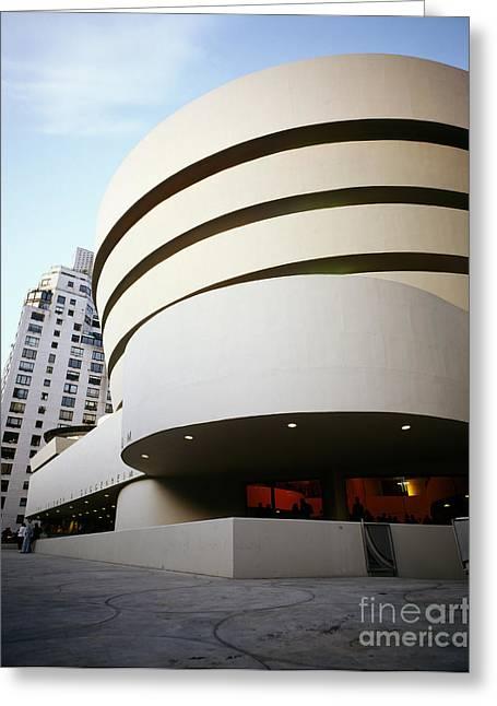 Solomon R. Guggenheim Museum Greeting Card by Rafael Macia