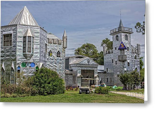 Amusements Greeting Cards - Solomons Castle Ona Florida Greeting Card by Edward Fielding