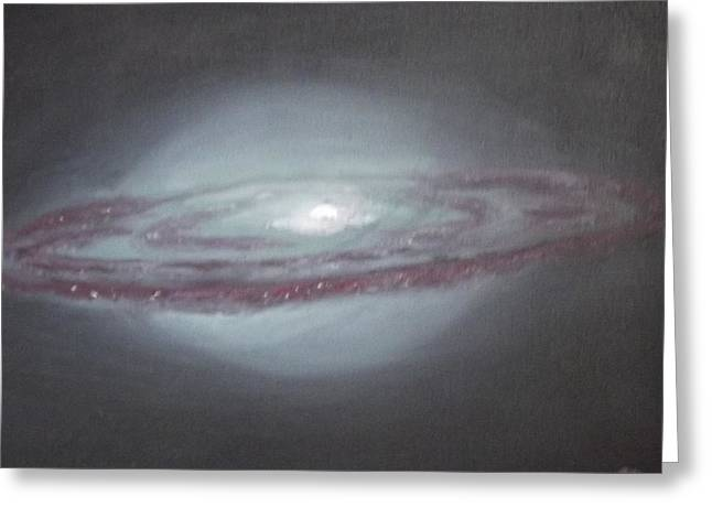 Christmas Greeting Greeting Cards - Sombrero Galaxy Greeting Card by Nicla Rossini