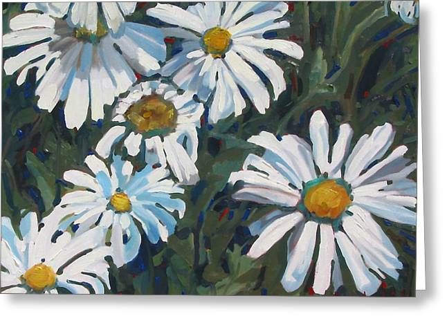 Canadian Greeting Cards - Some Are Daisies Greeting Card by Phil Chadwick