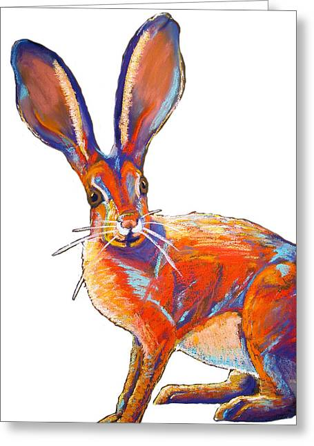 Bunnie Greeting Cards - Some Bunnie Greeting Card by Holly Wright