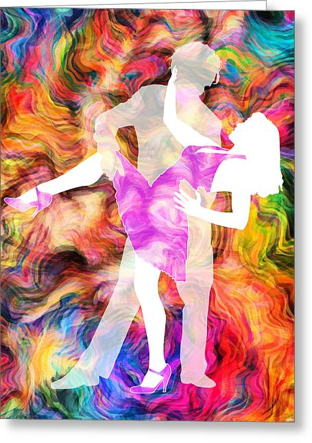 Heat Mixed Media Greeting Cards - Some Like It Hot 1 Greeting Card by Angelina Vick