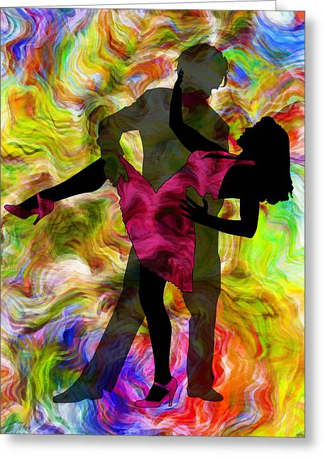 Heat Mixed Media Greeting Cards - Some Like It Hot 1 Part 2 Greeting Card by Angelina Vick