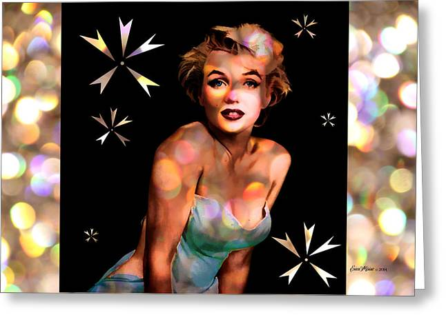 Norma Jean Greeting Cards - Some Like It Hot Greeting Card by EricaMaxine  Price