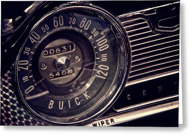 Speedometer Greeting Cards - Some Speed Greeting Card by Odd Jeppesen