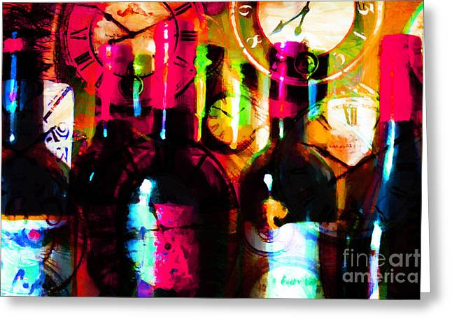 Some Things Get Better With Time m20 Greeting Card by Wingsdomain Art and Photography