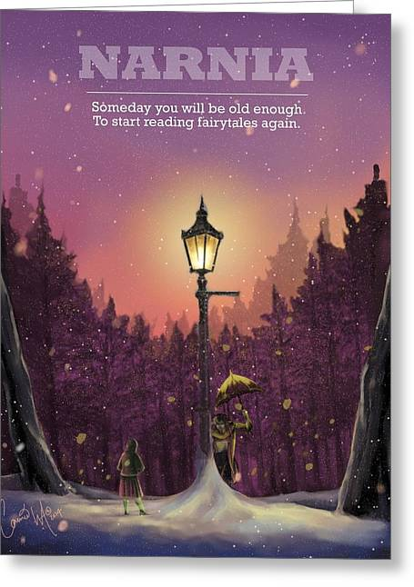 Someday Greeting Card by Connie Wilkerson-Arp