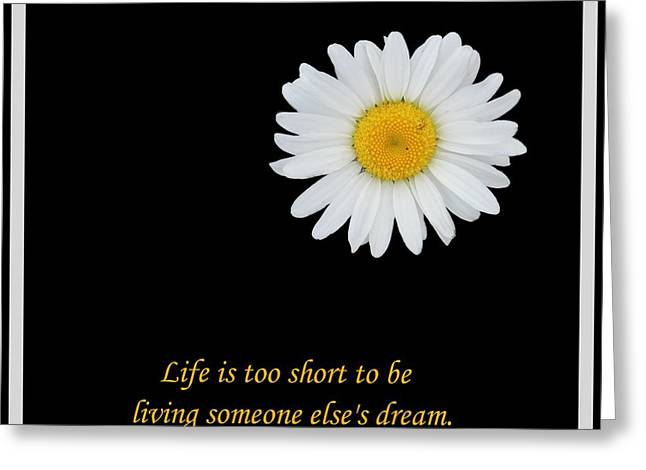 Subconscious Greeting Cards - Someone Elses Dream Greeting Card by Barbara Griffin
