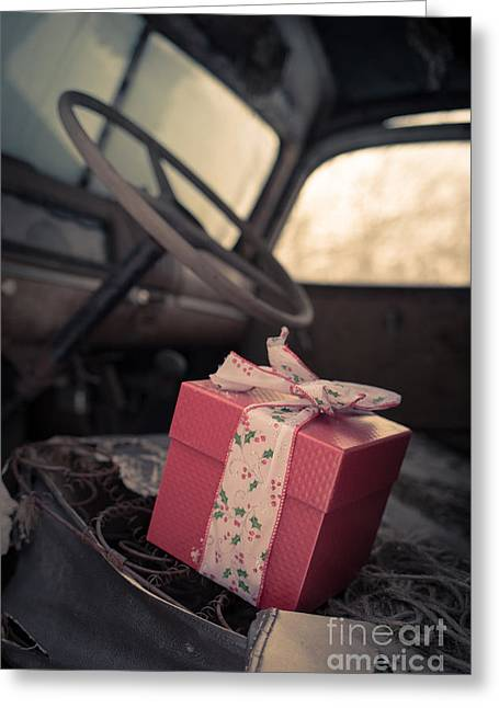 Windshield Greeting Cards - Someone remembered Greeting Card by Edward Fielding
