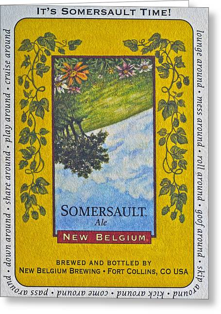 Fort Collins Greeting Cards - Somersault Ale Greeting Card by Bill Owen