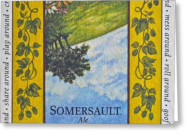 Somersault Ale Greeting Card by Bill Owen