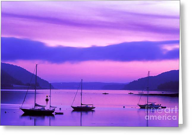 Somes Sound Greeting Cards - Somes Sound Greeting Card by Jim Block
