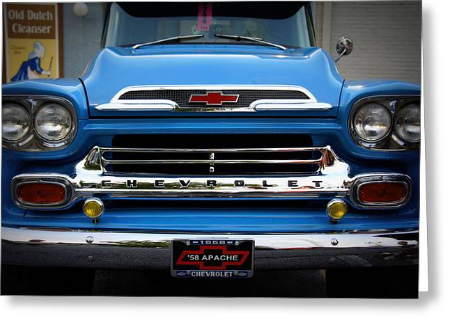 Laurie Perry Greeting Cards - Something Bout a Truck Greeting Card by Laurie Perry
