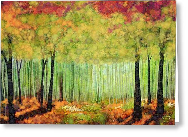 Fall Digital Art Greeting Cards - Something Good Greeting Card by Steven Boland