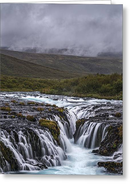 Acrylic Art Greeting Cards - Something to View Greeting Card by Jon Glaser