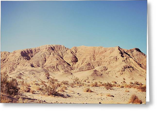 Desert Photographs Greeting Cards - Sometimes I See So Clearly Greeting Card by Laurie Search