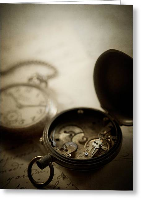 Somewhere In Time Greeting Card by Amy Weiss