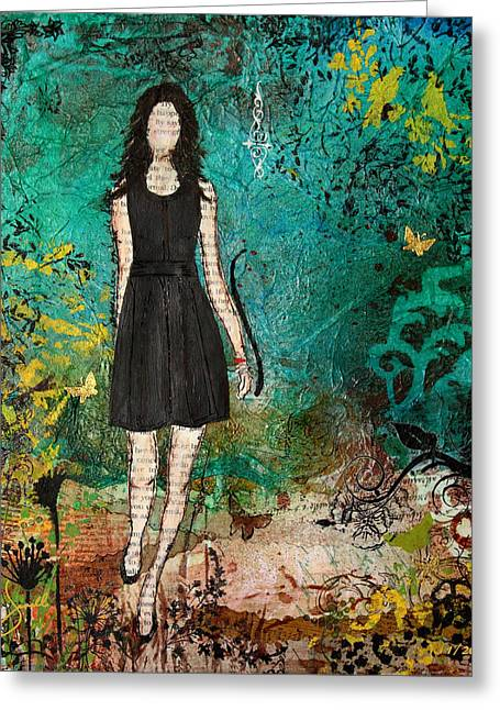 Janelle Nichol Greeting Cards - Somewhere Only We Know Greeting Card by Janelle Nichol
