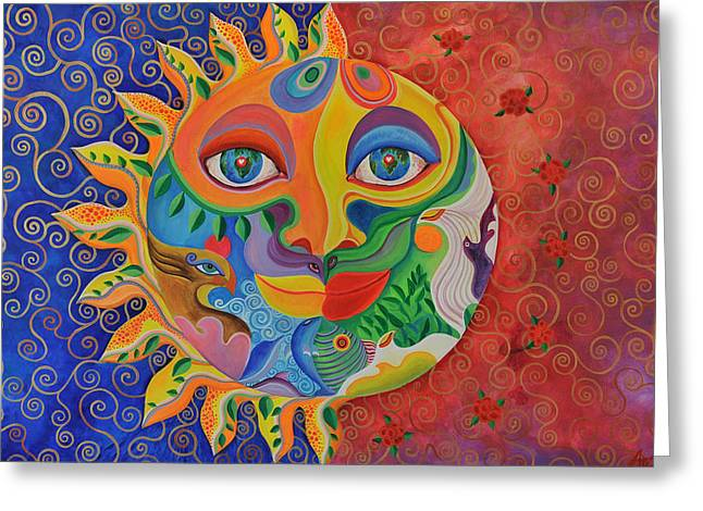 Universal Mother Greeting Cards - Sonara Greeting Card by Arianna Ruffinengo