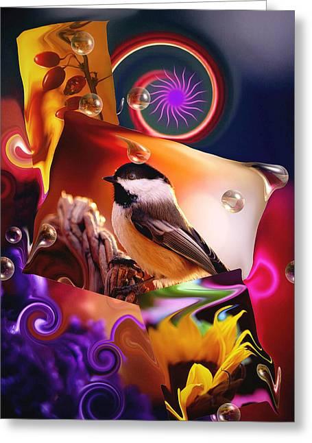 Sonata In B Major... Greeting Card by Arthur Miller