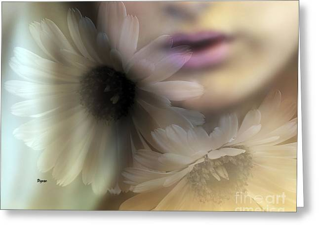 Exotic Women Greeting Cards - Song of Summer Greeting Card by Steven  Digman