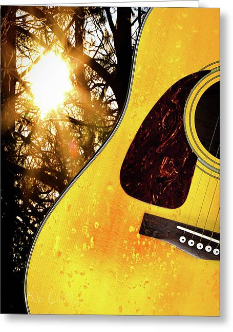 Fine Art Sunrise Greeting Cards - Songs From The Wood Greeting Card by Bob Orsillo