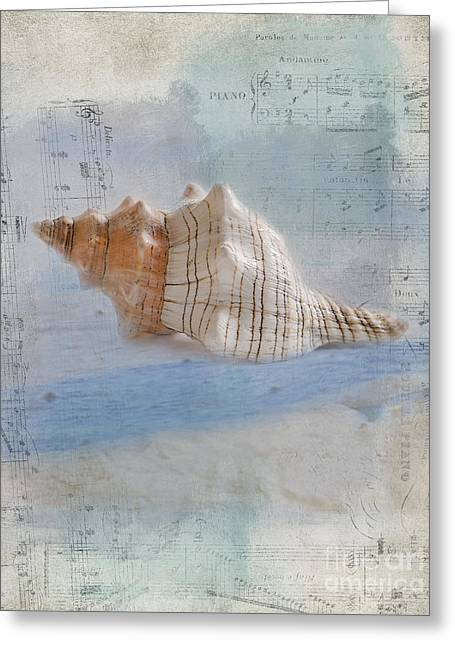 Sand And Sea Greeting Cards - Songs of the Sea Greeting Card by Betty LaRue