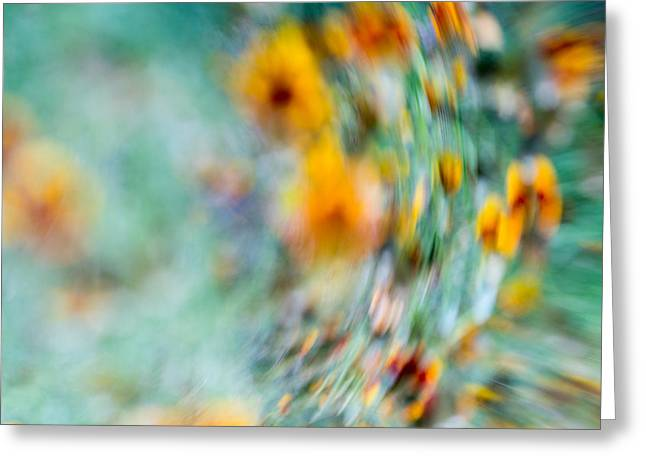 Abstract Waves Photographs Greeting Cards - Sonic Greeting Card by Darryl Dalton